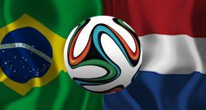 Brazilië - Nederland WK 2014 troostfinale