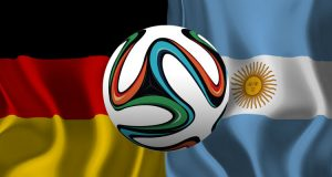 Duisland - Argentinië WK 2014 finale