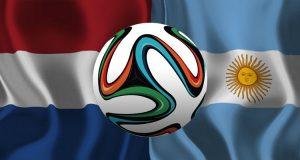 Nederland - Argentinië WK 2014 halve finale